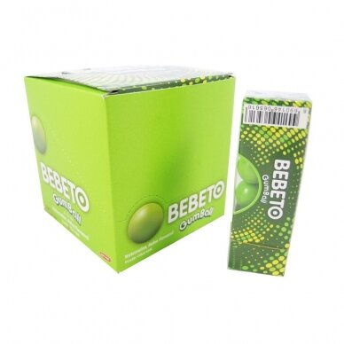 BEBETO gumball kramtomoji guma arbūzų skonio, 12x25 g