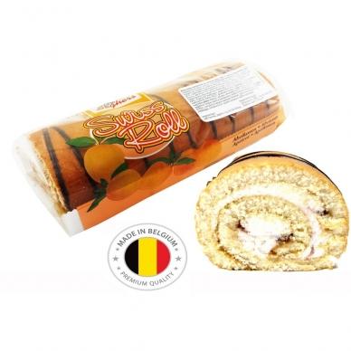 Belgiškas vyniotinis Seghers abrikosinis, 300 g