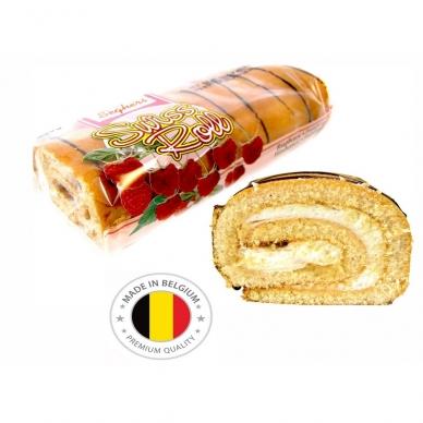 Belgiškas vyniotinis Seghers avietinis, 300 g