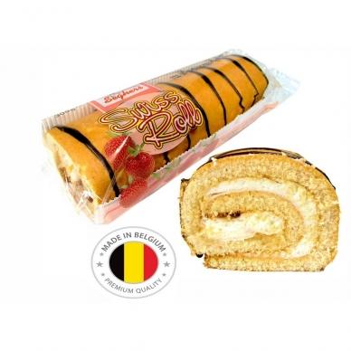 Belgiškas vyniotinis Seghers braškinis, 300 g