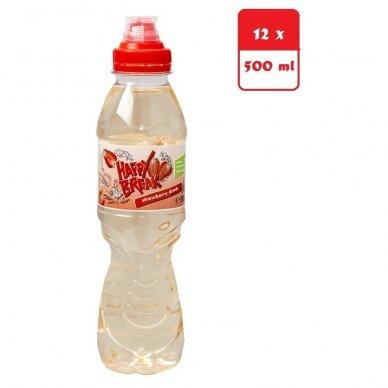 Gėrimas Happy Break braškių skonio, 12x500 ml