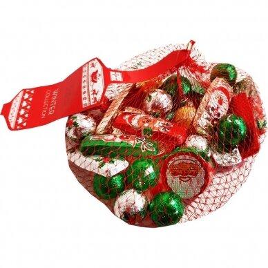 Kalėdinių šokoladinių figūrėlių rinkinys, 150 g