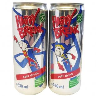 Happy Break obuolių sulčių gėrimas, 330 ml