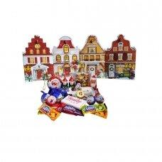 Saldainių rinkinys Kalėdų miestas, 385 g