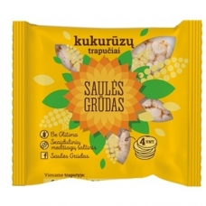 Saulės Grūdas kukurūzų trapučiai, 28 g