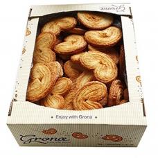 Sausainiai Grona ausytės su cukrumi, 0,7 kg