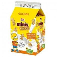 Sausainiai Simpsons vaniliniai tetrapake, 135 g