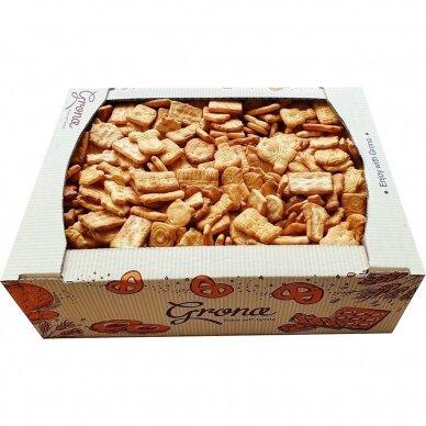 Sausainiai Grona Melodija krekeriai, 0,7 kg