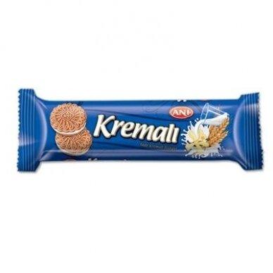 Sausainiai Kremali su vanilės sk. pertepimu, 50 g