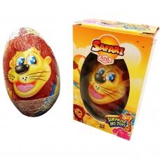 Šokoladinis kiaušinis Safari su žaisliuku, 60 g