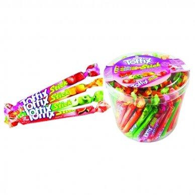 Toffix Sticks kramtomi saldainiai įv. skonių, 120x6,7 g