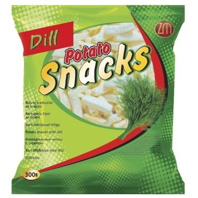Traškučiai Z.Snacks krapų skonio, 300 g