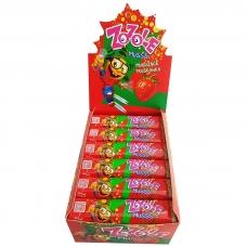 Zozole braškių skonio saldainiai su rūgščiu įdaru, 30g